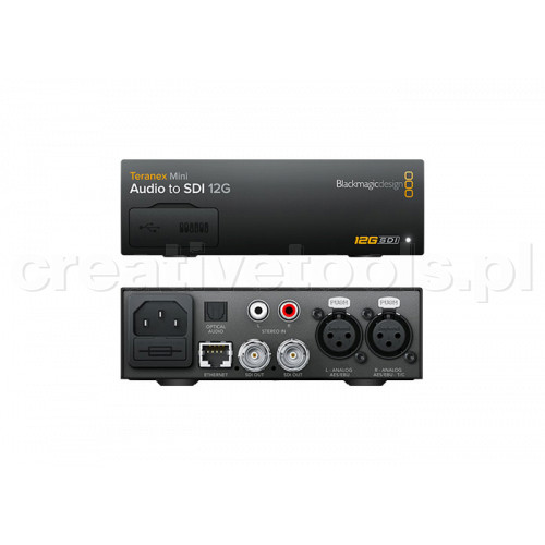 Blackmagic Design Teranex Mini Audio do SDI 12G