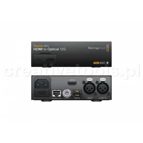 Blackmagic Design Teranex Mini HDMI do Optical 12G