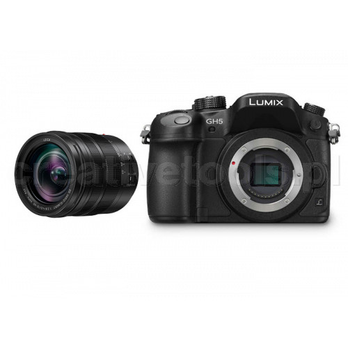 Panasonic Lumix DC-GH5 Kit + Leica H-ES 12-60 mm