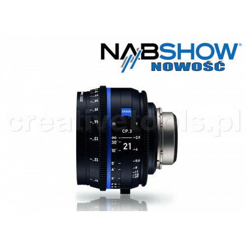 Zeiss Compact Prime CP.3 21/T2,9 T* - PL