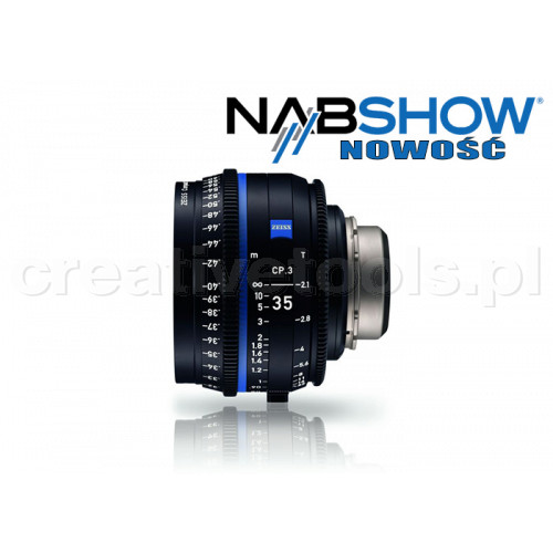 Zeiss Compact Prime CP.3 35/T2,1 T* - PL