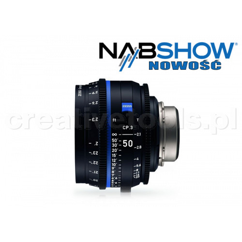 Zeiss Compact Prime CP.3 50/T2,1 T* - PL