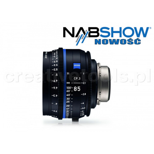 Zeiss Compact Prime CP.3 85/T2,1 T* - PL