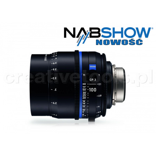 Zeiss Compact Prime CP.3 100/T2,1 T* - PL