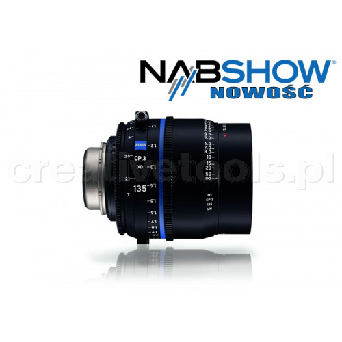Zeiss Compact Prime CP.3 XD 135/T2,1 T* - PL