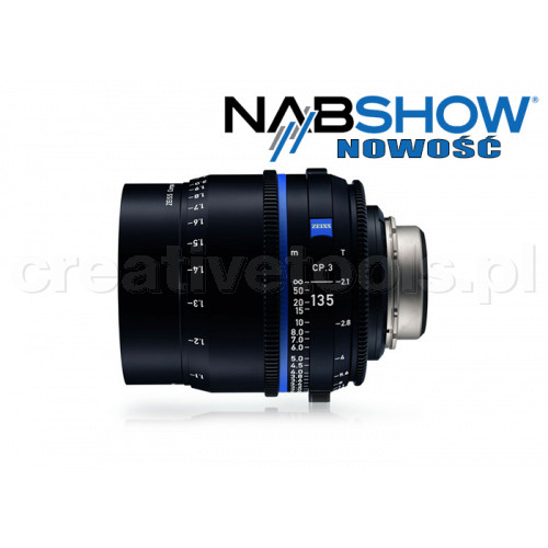 Zeiss Compact Prime CP.3 135/T2,1 T* - PL