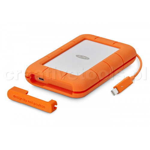 LaCie Rugged Thunderbolt USB-C 2TB (STFS2000800)