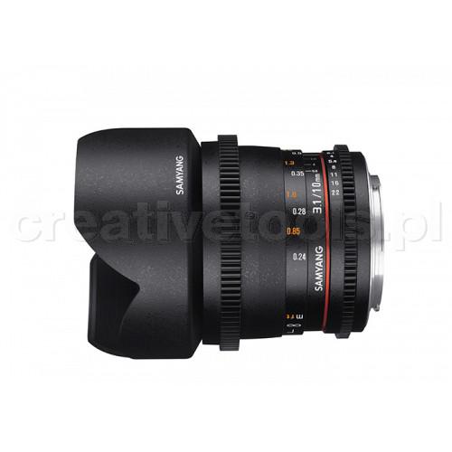 Samyang VDSLR II 10mm T3,1 Micro 4/3 (MFT)