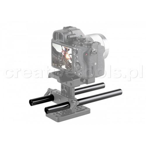 """SmallRig (1051) 2pcs 15mm Black Aluminum Rod 8"""""""