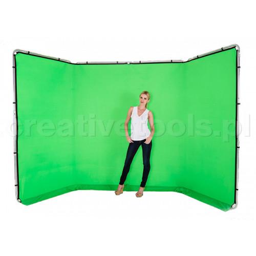 Lastolite Chromakey tło panoramiczne, zielone, 4m