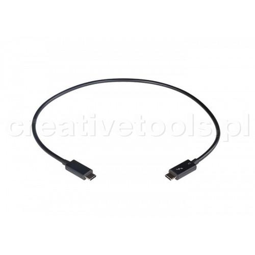 Sonnet Thunderbolt 3 kabel, 40Gbps, 1m, Czarny