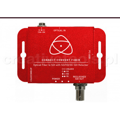 Atomos Connect Convert Fiber do SDI
