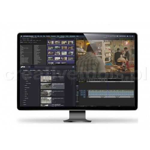 Avid Media Composer Ultimate 1-Y Subscripion Renewal EDU (ESD)