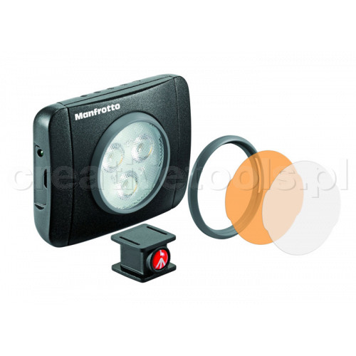 Manfrotto LUMIMUSE Lampa 3 Led (MLUMIEPL-BK)