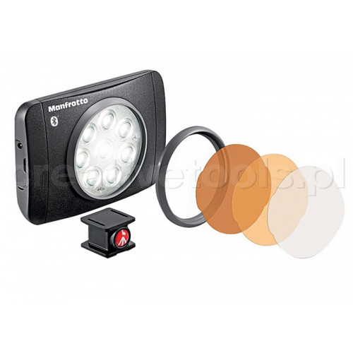 Manfrotto Lampka LUMIMUSE 8 LED z bluetoothem (MLUMIMUSE8A-BT)