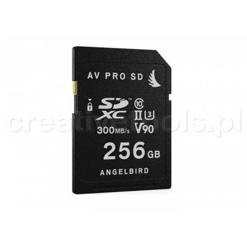 Angelbird SD Card UHS-II 256GB V90 (AVP256SD)