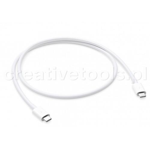 Apple Thunderbolt 3 (USB‑C) kabel 0,8m, biały