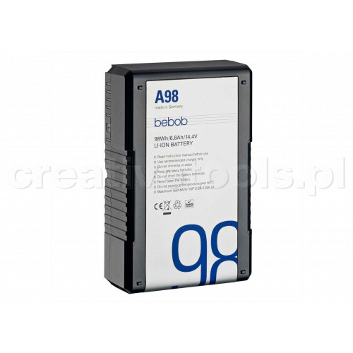 Bebob Gold Mount battery A98 14.4V / 6,8Ah