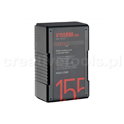 Bebob V-Mount High Load Battery 14,4V / 10,8Ah (V155RM-CINE)