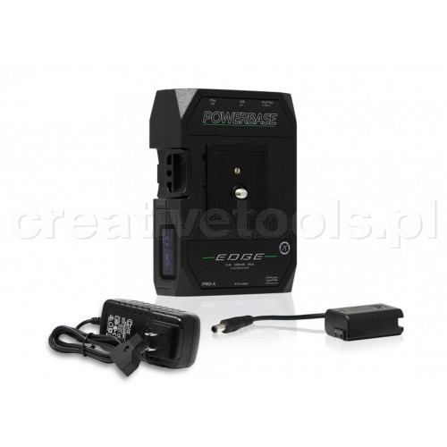 CoreSWX PowerBase EDGE Small Form Cine V-Mount Battery, 14.8v Includes charger and cable