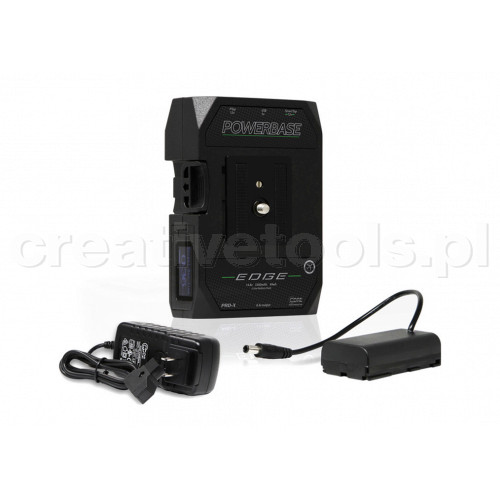 CoreSWX PowerBase EDGE Small Form Cine V-Mount Battery, 14.8v with Sony L-Series Battery Cable