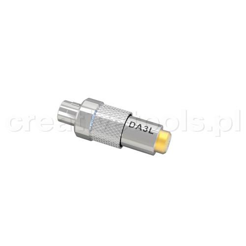 Deity DA3L (Lemo) Microdot Adapter for W.Lav series