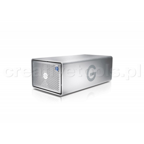 G-Technology G-RAID Removable 8TB Thunderbolt 3 & USB-C 3.1G2 Silver EMEA 5Yr (0G05749)
