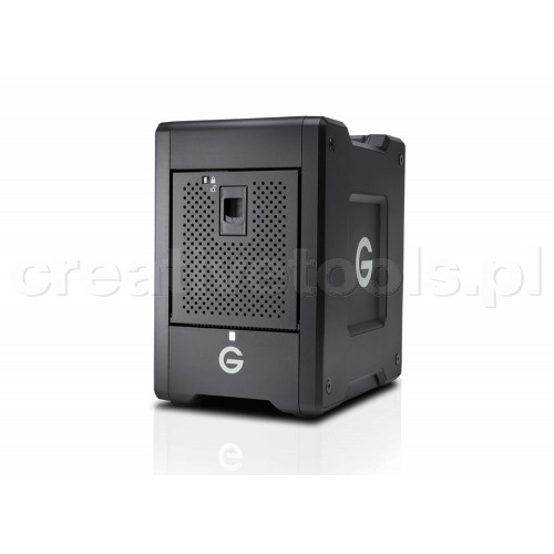 G-Technology G-SPEED Shuttle 4Bay Thunderbolt 3 24TB w/ev Series Bay Black EMEA (0G10147)