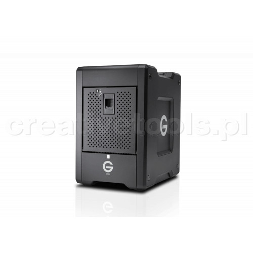 G-Technology G-SPEED Shuttle 4Bay Thunderbolt 3 SSD 8000GB Black EMEA (0G10189)