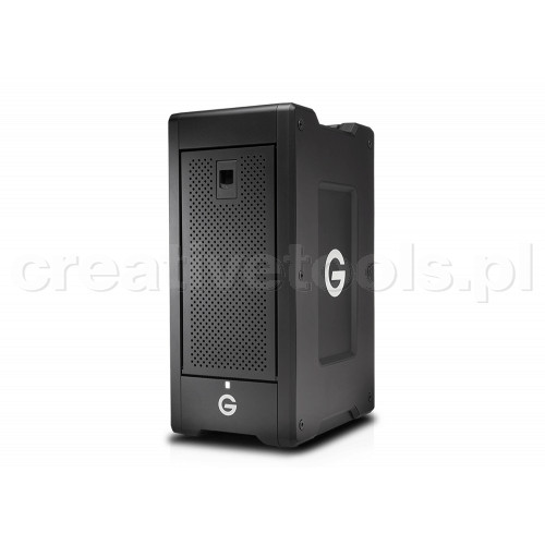 G-Technology G-SPEED Shuttle XL Thunderbolt 3 24TB w/ev Series Bay Black EMEA 5Yr (0G05938)