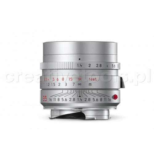 LEICA SUMMILUX-M 35 f/1.4 ASPH., silver anodized finish