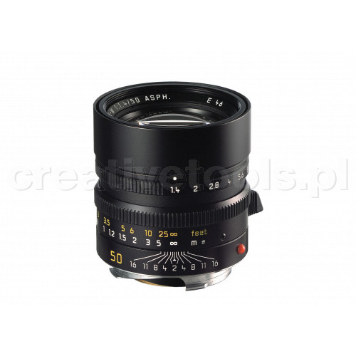 LEICA SUMMILUX-M 50 f/1.4 ASPH., black anodized finish