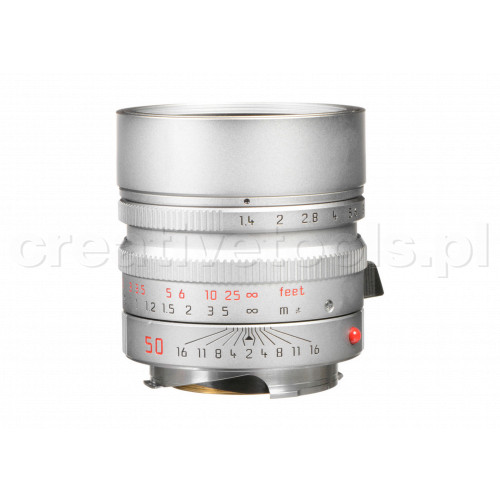 LEICA SUMMILUX-M 50 f/1.4 ASPH., silver chrome finish