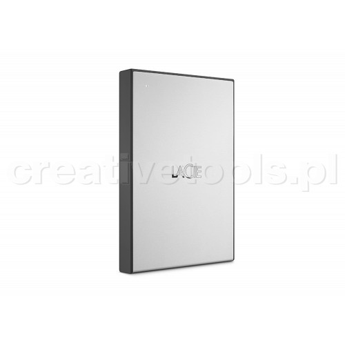 """LaCie 6,4cm(2,5"""") 1TB USB3.0 Drive Moon Silver (STHY1000800)"""