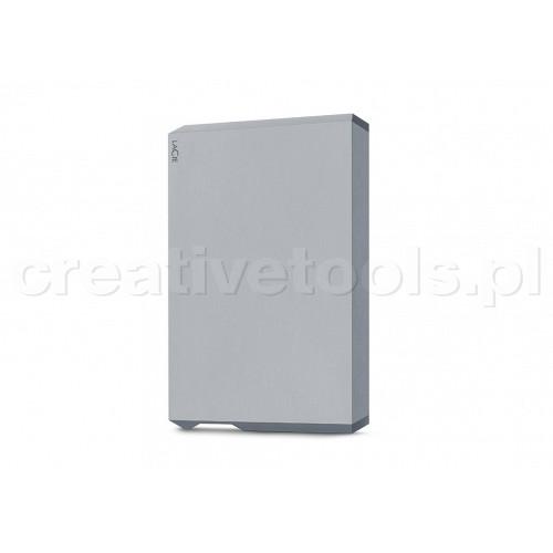 """LaCie 6,4cm(2,5"""") 5TB Mobile Drive USB-C Szary (STHG5000402)"""