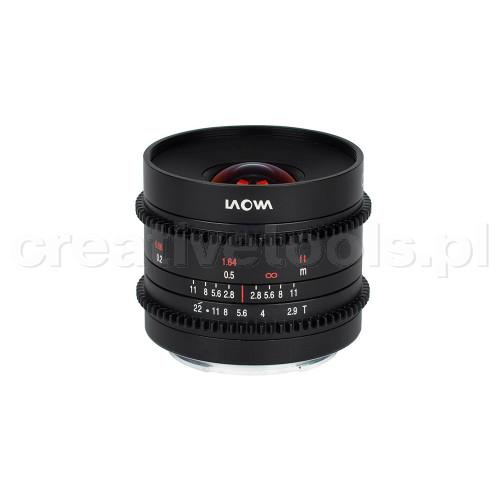 Laowa Obiektyw Venus Optics  9 mm T2,9 Zero-D Cine do Sony E