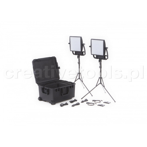 Litepanels Astra 3X Bi-Color Traveler Duo