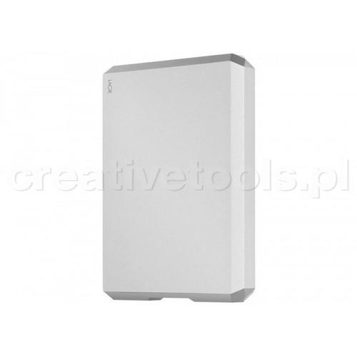 "LaCie 6.4cm (2,5"") 4TB Mobile Drive USB-C Moon Silver (STHG4000400)"