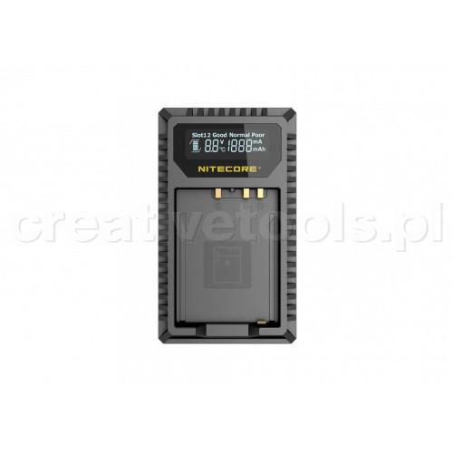 Nitecore FX1 ładowarka USB  do baterii Fujifilm (NP-T125)