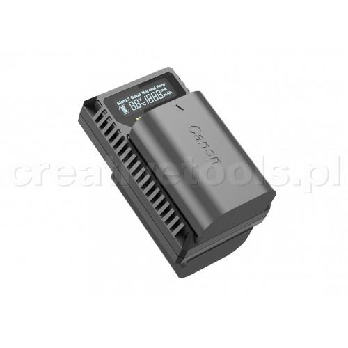 Nitecore UCN3 ładowarka USB  do baterii Canon (LP-E6N)