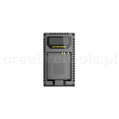 Nitecore UL109 ładowarka USB  do baterii Leica (BP-DC15-E)