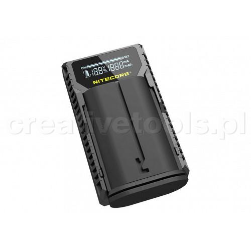 Nitecore ULQ ładowarka USB do baterii Leica (BP-DC12)