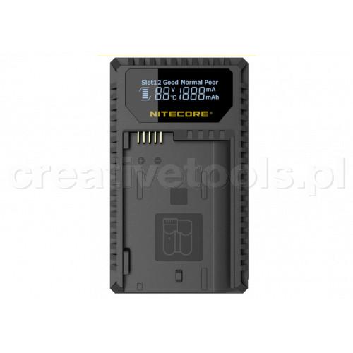 Nitecore UNK1 ładowarka USB  do baterii Nikon (EN-EL14/EN-EL14a and EN-EL15)