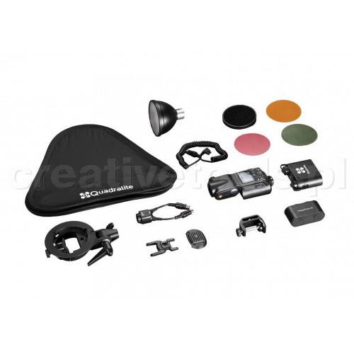 Quadralite Reporter 360 TTL C 1-Light Complete Kit