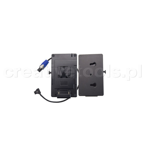 Rayzr 7 V-Mount Battery Plate with Quick Release Fitting