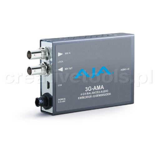 AJA 3G-AMA z zasilaczem