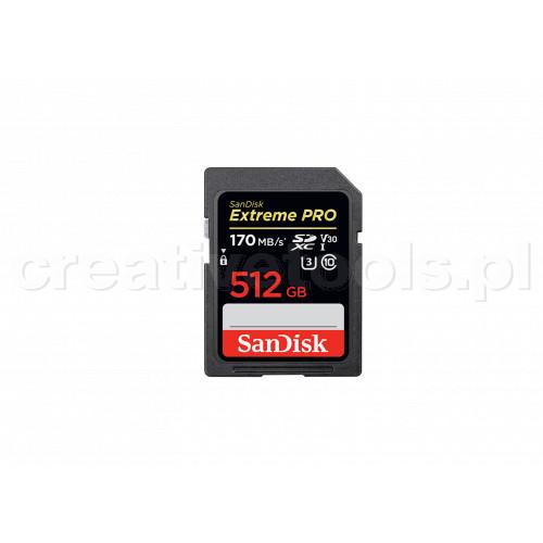 SanDisk SDXC Extreme Pro 512 GB 170MB/s