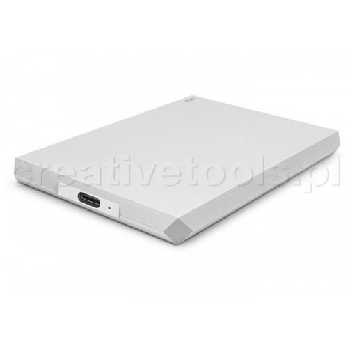 "LaCie 6.4cm (2,5"") 2TB Mobile Drive USB-C Moon Silver (STHG2000400)"