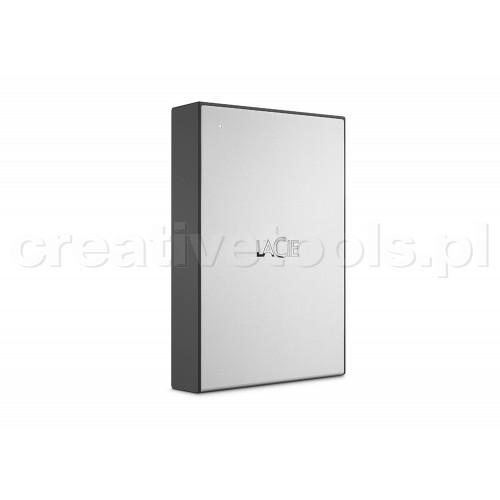 """LaCie 6,4cm(2,5"""") 4TB USB3.0 Drive Moon Silver (STHY4000800)"""