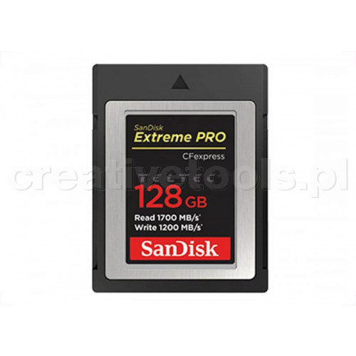 SanDisk CFexpress Extreme Pro 128 GB 1.700 MB/s